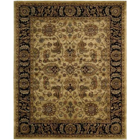 Handcrafted Rugs - shop nourison jaipur light yellow rectangular indoor