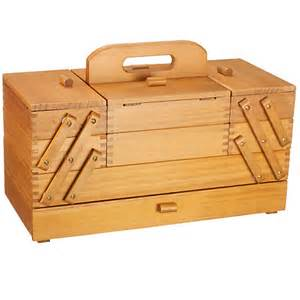 Buy cantilever wood sewing box large online at johnlewis com