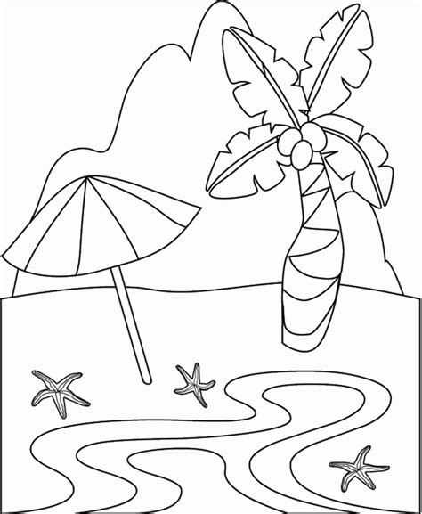 beach coloring pages coloring lab