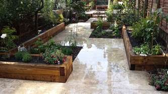 Patio Garden Designs Paving Travertine Paving Patio Modern Garden Design Landscaping