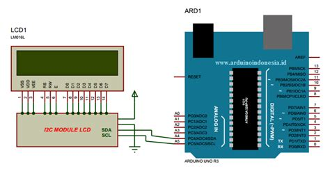tutorial arduino indonesia pdf cara interface arduino uno dengan hardware i2c lcd 16x2