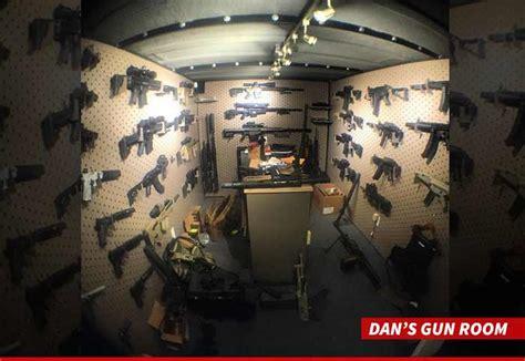 dans gun room dan bilzerian burglars target mega gun collection in home burglary tmz