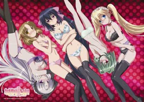 my top 10 comedy ecchi harem anime anime amino