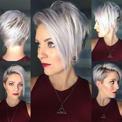 grey funky hair best 25 short silver hair ideas on pinterest grey bob