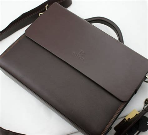 mens leather business bags aliexpress buy high fashion genuine leather s bag business bag s shoulder bag