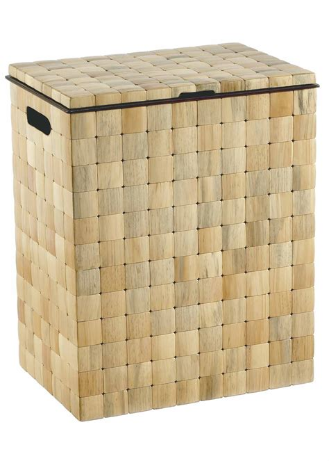barclay lidded hamper  tiled pine luxury hamper