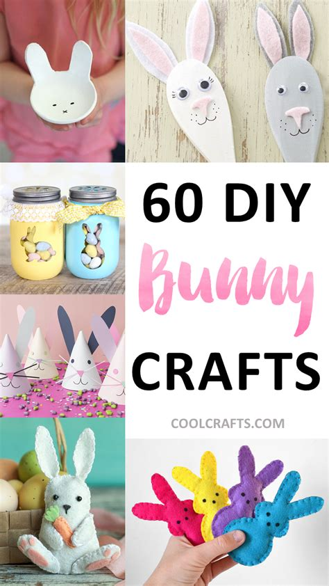 diy projects for craft 60 diy bunny crafts you can make for easter