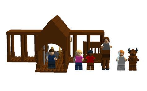 C Half Blood Poseidon Cabin by Lego Ideas Percy Jackson The Olympians C Half