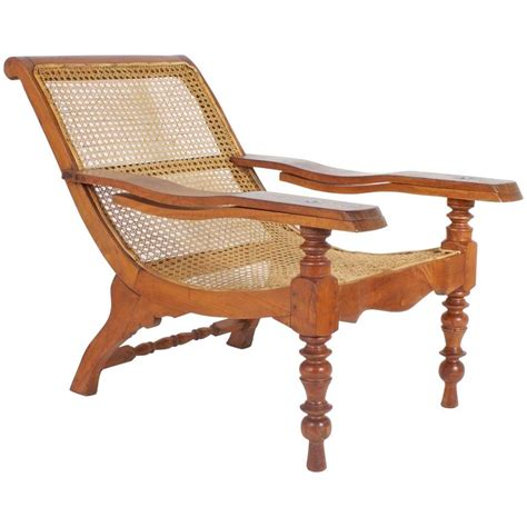 Plantation Chairs by Antique Mahogany Plantation Chair For Sale At 1stdibs