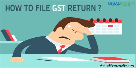 GST Return Filing online   Learn how to file GST return   Easy software for GST