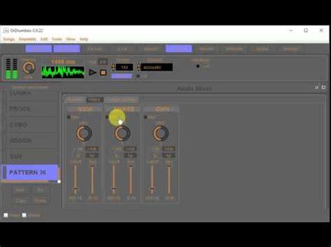 drum machine tutorial youtube software drum machine ordrumbox 0 9 22 mini tutorial youtube