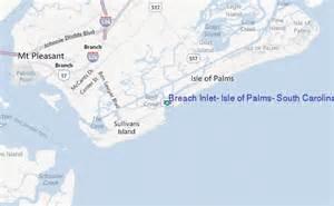 breach inlet isle of palms south carolina tide station