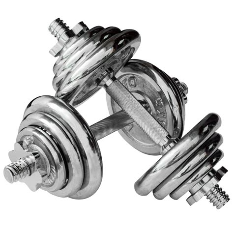 1 Set Dumbell Chrome buy cheap chrome dumbbell set compare weight prices for best uk deals
