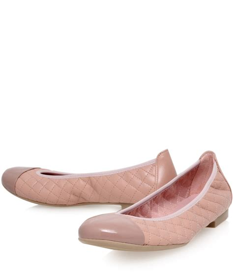 pretty flats shoes pretty ballerinas pink shirley quilted leather ballet