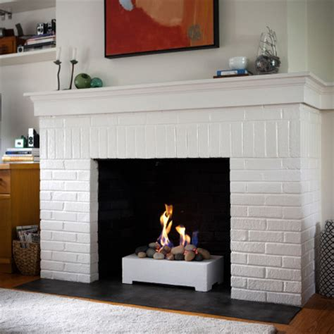 gas stones log set alternative for wood burning fireplaces