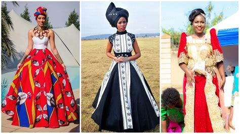 10 Stunning traditional wedding dress styles in Africa