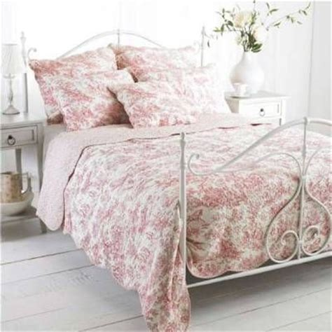 toile bedspreads and coverlets paoletti canterbury tales toile de jouy pure cotton