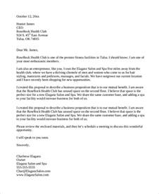 partnership letter template 32 sle business letters