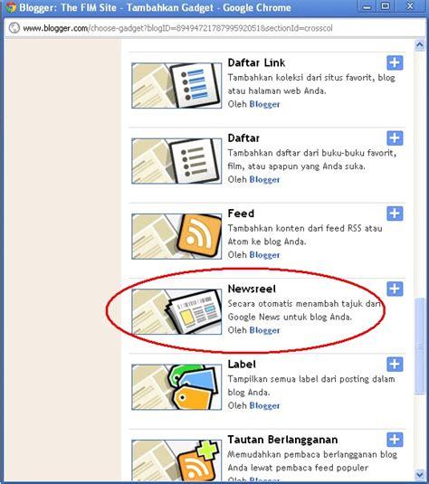 membuat blog berita membuat widget berita otomatis
