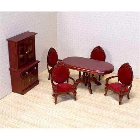 melissa doug victorian dollhouse dining room furniture