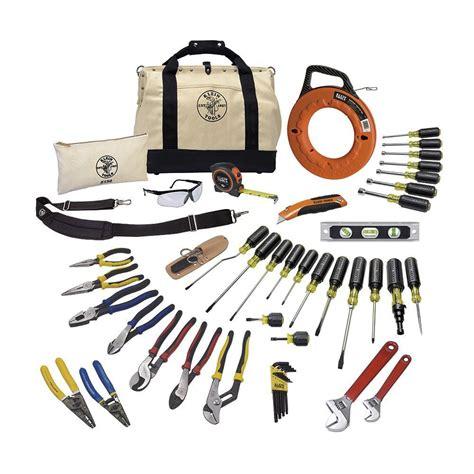klein tools 41 journeyman tool set 80141 the home
