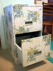 Mod Podge Cabinets by Decoupage Filing Cabinet Update Metals And Fabrics