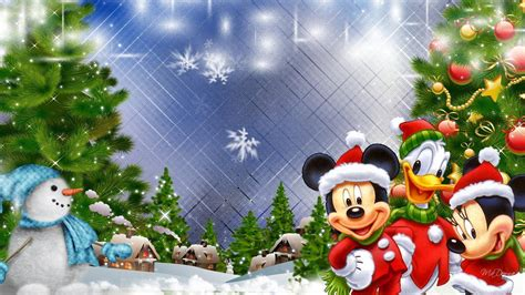 wallpaper disney natal mickey mouse christmas wallpapers wallpaper cave