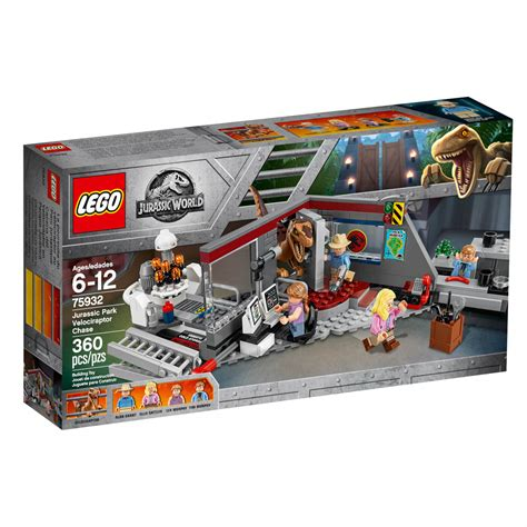 New Set new jurassic world lego sets return to jurassic park