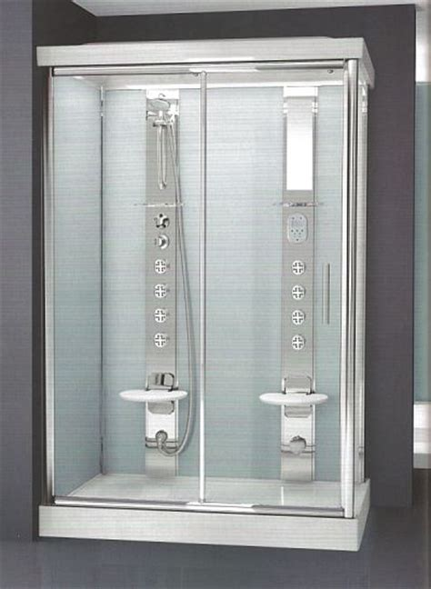 all in one sealed bathroom unit novellini light 2 two person shower pod