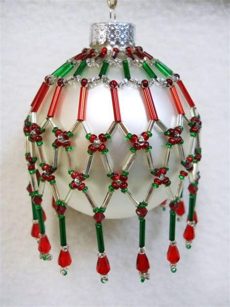 pattern only beaded ornament cover