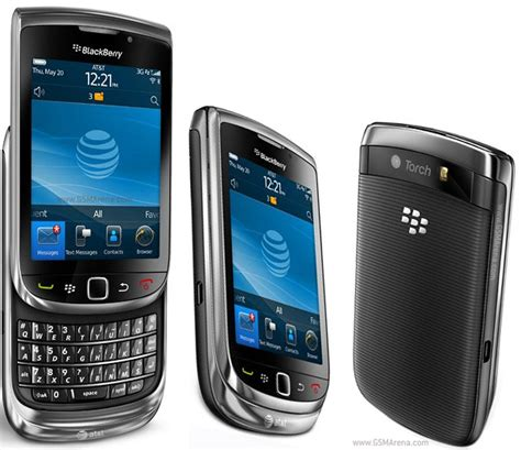 Hp Bb Touch blackberry torch 9800 pictures official photos