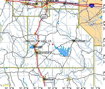 jackson louisiana map jackson parish louisiana detailed profile houses real
