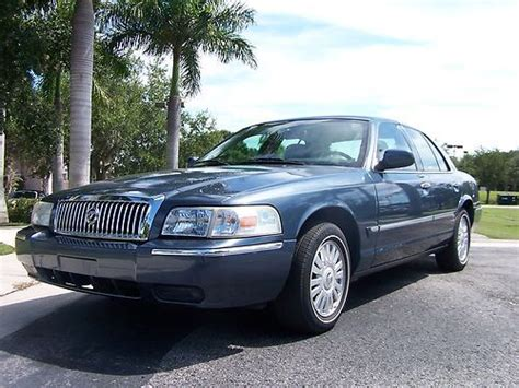 buy car manuals 2008 mercury grand marquis free book repair manuals buy used 2008 mercury grand marquis gs blue with tan leather florida car one owner 22k mi in