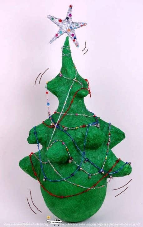 193 rbol de navidad de papel mach 233 manualidades infantiles