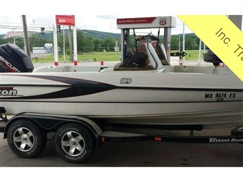 used triton walleye boats for sale triton 189 walleye in florida power boats used 24810