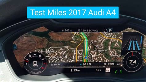 audi dashboard 2017 2017 audi a4 dash