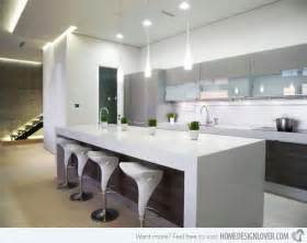 modern island kitchen 15 distinct kitchen island lighting ideas home design lover