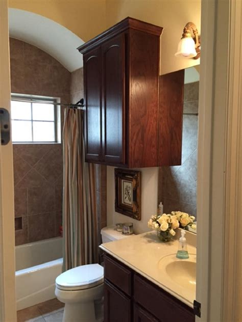 how to remodel a small bathroom before and after before and after bathroom remodels on a budget hgtv