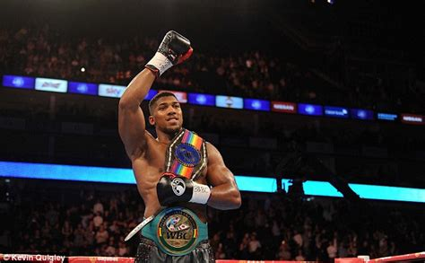 tattoo london mol anthony joshua secures commonwealth title victory against