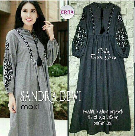 Baju Muslim Wanita Maxi Dewi Pink baju muslim modis dewi maxi grosir baju muslim