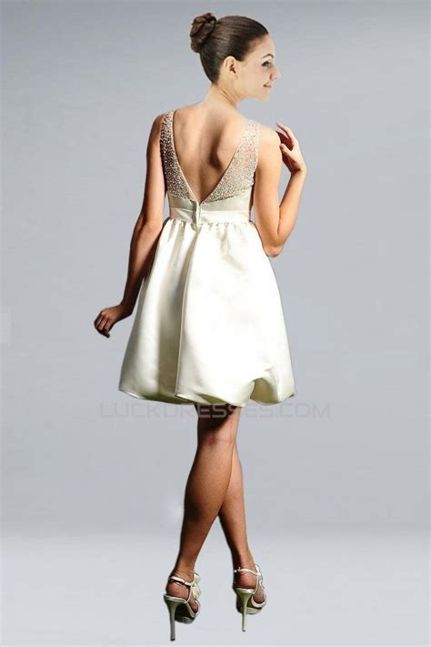 beaded bridal gown short ball gown beaded v neck bridal gown wd010273