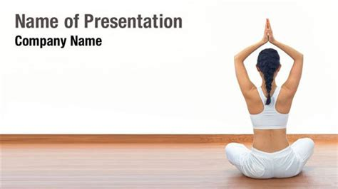 template powerpoint yoga yoga class powerpoint templates yoga class powerpoint
