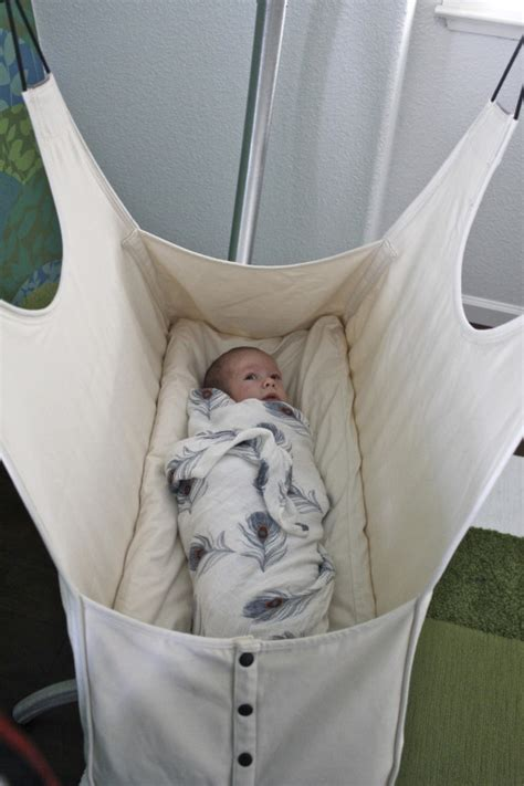 using a swing for baby to sleep sleep well with the hushamok hammock project nursery