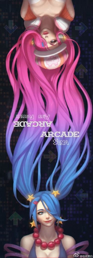 Z Anime Mf by Arcade Sona And Arcade Miss Fortune Fan League Of
