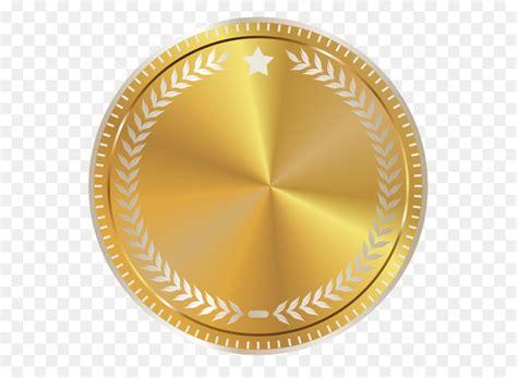 gold seal clip art gold seal badge  decoration png clipart image  transprent png