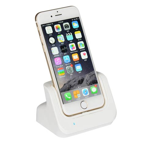 charger cradle desktop lightning dock charging sync station f iphone 6 6s 7 plus ebay