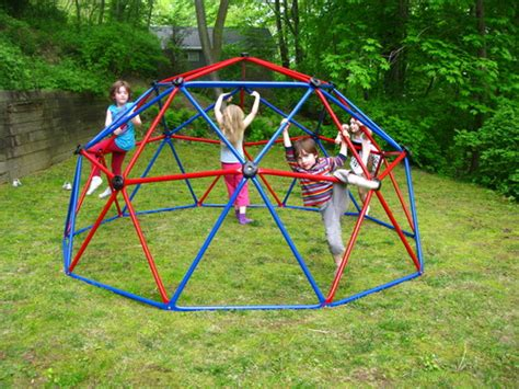 backyard climber lifetime geometric dome climber play center review