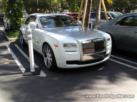 rolls royce in miami rolls royce ghost spotted in miami florida on 04 13