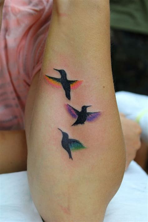 small colorful bird tattoos best 25 colorful hummingbird ideas on