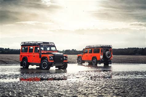 land rover defender 2015 special edition land rover launches three limited edition defenders
